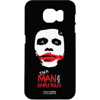 Man With Simple Rules - Pro Case for Samsung S7 Edge