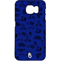 KR Collage Blue - Pro Case for Samsung S7 Edge