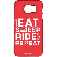 Eat Sleep Ride Repeat - Pro Case for Samsung S7 Edge