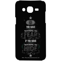 Nothing to Hide  - Sublime Case for Samsung On7