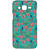 Payal Singhal Anaar and Mor Teal - Sublime Case for Samsung On7