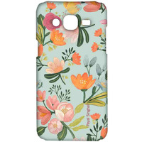 Payal Singhal Aqua Handpainted Flower - Sublime Case for Samsung On7