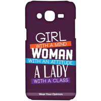 Girl Woman Lady - Sublime Case for Samsung On7
