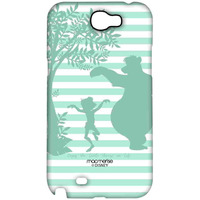 Mowgli and Baloo Stripes - Sublime Case for Samsung Note 2
