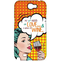 Miss Wine - Sublime Case for Samsung Note 2