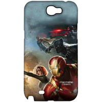 Team Ironman - Sublime Case for Samsung Note 2