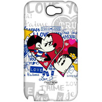 Mickey Minnie True Love - Sublime Case for Samsung Note 2