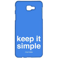 Keep It Simple - Sublime Case for Samsung J7 Prime