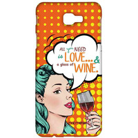 Miss Wine - Sublime Case for Samsung J7 Prime