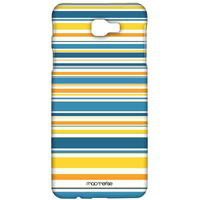 Stripe me Yellow - Sublime Case for Samsung J7 Prime