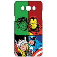 Mighty Avengers - Sublime Case for Samsung J7 (2016)