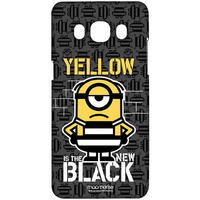 Yellow Black - Sublime Case for Samsung J5 (2016)