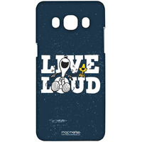 Live Loud Blue  - Sublime Case for Samsung J5 (2016)