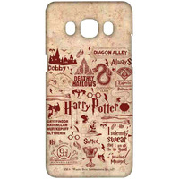 Harry Potter Infographic Red - Sublime Case for Samsung J5 (2016)