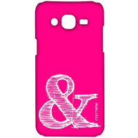 AND Pink - Sublime Case for Samsung J5