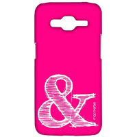 AND Pink - Sublime Case for Samsung J2 Prime