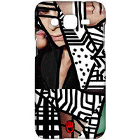 KR Black Abstract - Sublime Case for Samsung J2