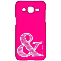 AND Pink - Sublime Case for Samsung J2