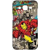 Comic Ironman - Sublime Case for Samsung J2