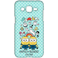 Happily Blended Teal - Sublime Case for Samsung J2