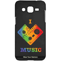 I Love Music - Sublime Case for Samsung J2