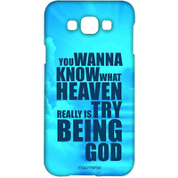 Try Being God Blue - Sublime Case for Samsung Grand Max