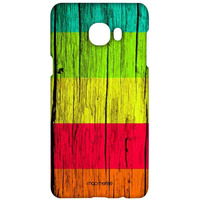 Wood Stripes Ensemble - Sublime Case for Samsung C7