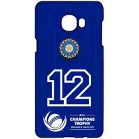 India Number 12 - Sublime Case for Samsung C7