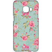 Teal Pink Flowers - Sublime Case for Samsung C5