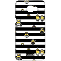Black Stripes Minions - Sublime Case for Samsung A9