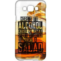 Alcohol Fact - Sublime Case for Samsung A8
