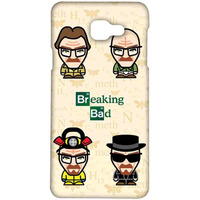 Breaking Bad Caricatures  - Sublime Case for Samsung A7 (2016)