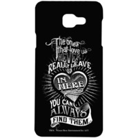 Find Loved Ones Black  - Sublime Case for Samsung A7 (2016)