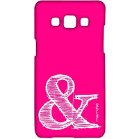 AND Pink - Sublime Case for Samsung A7