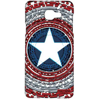 Captains Shield Engineered - Sublime Case for Samsung A5 (2016)
