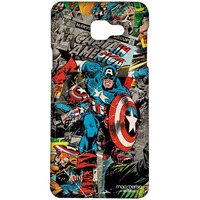 Comic Captain America - Sublime Case for Samsung A5 (2016)