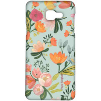 Payal Singhal Aqua Handpainted Flower - Sublime Case for Samsung A5 (2016)