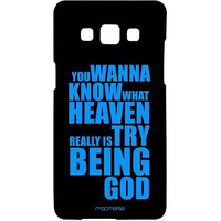 Try Being God Black - Sublime Case for Samsung A5
