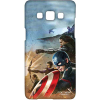 Team Captain America - Sublime Case for Samsung A5