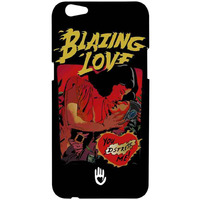 KR Blazing Love Black - Sublime Case for Oppo F3 Plus