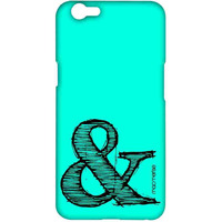 AND Teal - Sublime Case for Oppo F1s