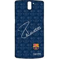 Autograph Iniesta - Sublime Case for OnePlus One
