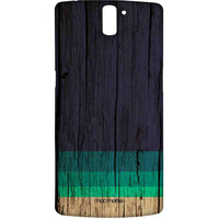 Wood Stripes Blue - Sublime Case for OnePlus One