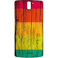 Wood Stripes Neon - Sublime Case for OnePlus One