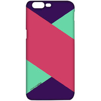 Tealpink Stripes - Pro Case for OnePlus 5