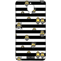 Black Stripes Minions - Sublime Case for OnePlus 3