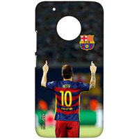Strike Messi - Sublime Case for Moto G5 Plus