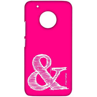 AND Pink - Sublime Case for Moto G5 Plus