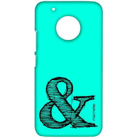 AND Teal - Sublime Case for Moto G5 Plus