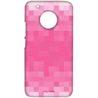 Pixelated Pink - Sublime Case for Moto G5 Plus